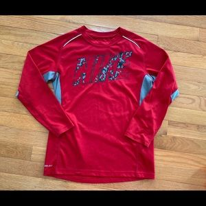 NIKE dry-fit long sleeve shirt